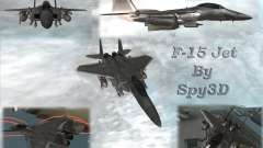 F-15 Eagle для GTA San Andreas