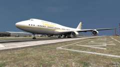 Real Emirates Airplane Skins Gold