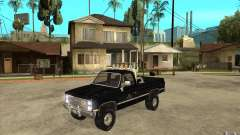 GMC Sierra 1986 FBI для GTA San Andreas