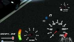Уникальный спидометр для GTA San Andreas