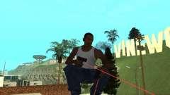 Laser Weapon Pack для GTA San Andreas