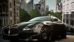 Maserati Quattroporte Sport GTS 2011 для GTA 4