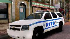 Chevrolet Tahoe New York Police для GTA 4