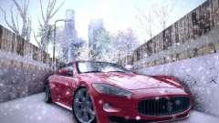 Maserati Gran Turismo S 2011 V2 для GTA San Andreas