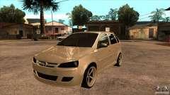 Opel Corsa Tuning Edition для GTA San Andreas