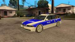BMW 525i Touring Police для GTA San Andreas