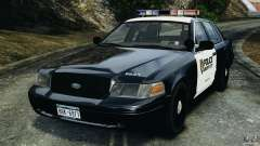 Ford Crown Victoria Police Interceptor 2003 Liberty City Police Department [ELS] для GTA 4