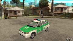 ВАЗ 2112 YPX Police для GTA San Andreas