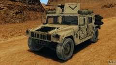 HMMWV M1114 v1.0 для GTA 4