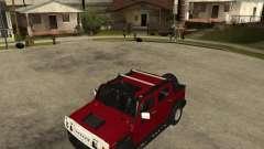 AMG H2 HUMMER SUT для GTA San Andreas
