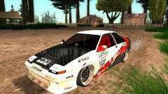 Toyota AE86 Coupe для GTA San Andreas