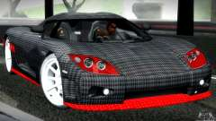 Koenigsegg CCX серебристый для GTA San Andreas