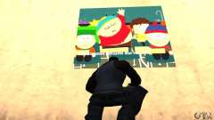 South Park Grafitti Mod для GTA San Andreas