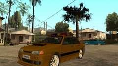 ВАЗ 2115 Police Tuning для GTA San Andreas