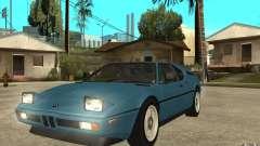 BMW M1 1981 для GTA San Andreas