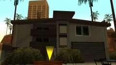 Измененный дом на пляже Санта-Мария 2.0 для GTA San Andreas