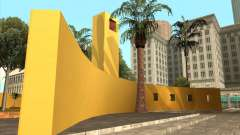 Новый центральный парк Лос Сантоса для GTA San Andreas