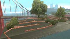 New Drift Track SF для GTA San Andreas