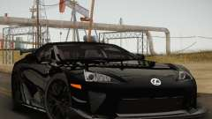 Lexus LFA Nürburgring Performance Package 2011 для GTA San Andreas