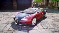 Bugatti Veyron 16.4 Police [EPM/ELS] для GTA 4