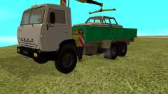 КАМАЗ 53212 манипулятор