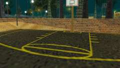 New basketball court для GTA San Andreas