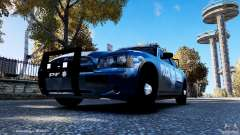 POLICIA FEDERAL MEXICO DODGE CHARGER ELS для GTA 4