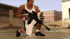 M4 с Датчиком сердцебиения для GTA San Andreas