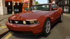 Ford Mustang GT 2011 для GTA 4