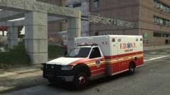 Ford F-350 Ambulance FDNY для GTA 4