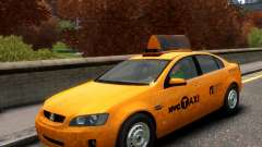Holden NYC Taxi для GTA 4