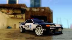 Nissan Skyline R32 Police для GTA San Andreas