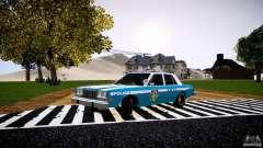 Dodge Diplomat 1983 Police v1.0 для GTA 4