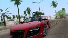 Audi R8 GT Spyder для GTA San Andreas