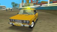 ВАЗ 2106 Такси v2.0 для GTA Vice City