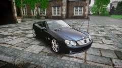 Mercedes Benz SL65 AMG для GTA 4