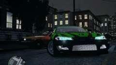 Nissan Silvia лайм для GTA 4