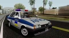 ВАЗ 21099 Полиция для GTA San Andreas