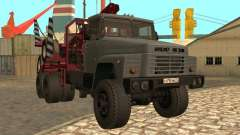 КрАЗ-255 Лесовоз для GTA San Andreas