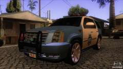 Cadillac Escalade 2007 Cop Car для GTA San Andreas