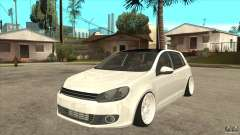 Volkswagen Golf VI 2010 Stance Nation для GTA San Andreas