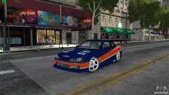 Nissan Silvia S15 Tokyo Drift для GTA 4