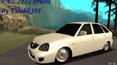 Lada 2172 Priora Хетчбек для GTA San Andreas