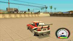 New Speedometer no transmissions для GTA San Andreas