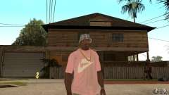 Pink Nike T-Shirt для GTA San Andreas
