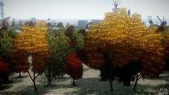 Realistic trees 1.2 для GTA 4