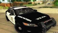 Ford Taurus 2011 LAPD Police для GTA San Andreas