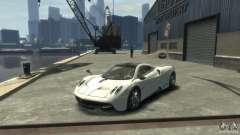 Pagani Huayra белый для GTA 4