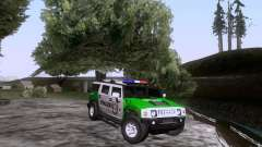 Hummer H2 Polizei для GTA San Andreas