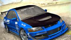 Mitsubishi Lancer Evolution IX Tunable для GTA San Andreas